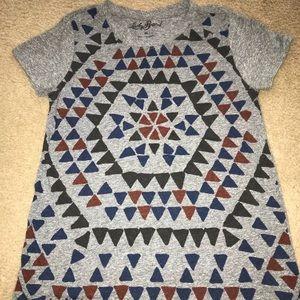 Lucky Brand Geometric T-Shirt szXS